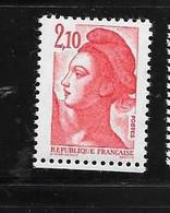 France:variété N°2319a Timbre 2,10f Rouge  Sans Phosphore Total Cote 36,00€ Chez Maury Et 35,00€ Chez Y & T - Varieteiten: 1980-89 Postfris