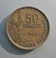 France 50 Francs 1953 - Francia 50 Franchi - M. 50 Franchi