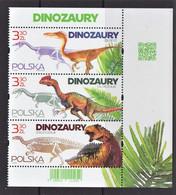 11.- POLAND 2020 PREHISTORIC ANIMALS DINOSAURS - Prehistorics