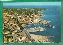 Saint-Raphaël (83) Vue Aérienne Sur La Ville Une Des Plages Le Port 2scans 02-07-1974 Flamme De Les Issambres - Saint-Raphaël