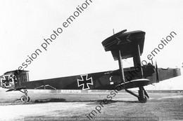 PHOTO AVION  RETIRAGE REPRINT      Handley Page 0100 Capturé Par Les Allemands. - Aviation