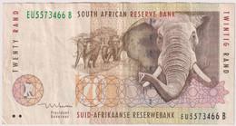 SOUTH AFRICA 20 RAND ND , P-124b , ELEPHANT - Suráfrica
