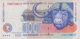 SOUTH AFRICA 100 RAND ND , P-126b , BUFFALO - Suráfrica