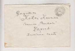 YUGOSLAVIA,1926 AMB TRAIN CANCEL SARAJEVO-BROD 15 Nice Cover - Covers & Documents
