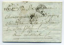 P52P PONT A MOUSSON  ( 38x8) + PP Grand Format / Dept 52 Meurthe / 1808 - 1801-1848: Precursores XIX