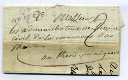 89 ORANGE / Dept Du Vaucluse / 1817 - 1801-1848: Precursores XIX