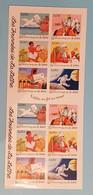 Carnet 12 Timbres Les Journées De La Lettre - Timbres Autocollants - Dia Del Sello