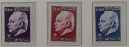 Monaco 1996 / Yvert N°2033-2035 / ** - Neufs