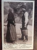 """Cpa, Occitan-Patois, Folklore, Couple, Humour, Typique, En Périgord (24) - """"Ah Mon Gaillard !....."""", éd Hirondelle 59 - Non Classés"""