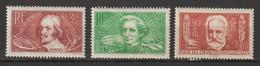 FRANCE . YT N° 330/331/332  Neuf  Gomme Altérée 1936 - Unused Stamps