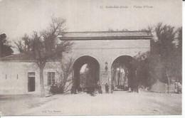 12 - SIDI BEL ABBES - PORTE D'ORAN (  Animées  ) ALGERIE - Sidi-bel-Abbès