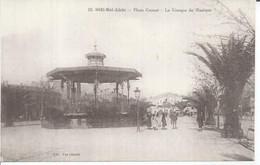 19 - SIDI BEL ABBES - PLACE CARNOT - LE KIOSQUE DE MUSIQUE (  Animées  ) ALGERIE - Sidi-bel-Abbès