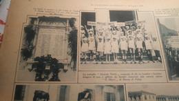 IL GAZZETTINO ILLUSTRATO 1928 VIGONOVO NAUFRAGHI DEL POLO UMBERTO NOBILE FROSINONE NOMESINO MORI SAN VITO DI CADORE - Otros