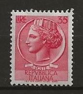 Italie Neuf Avec Charnière / Oblitéré N° 653 2 Timbres Lot 34-13 - 1946-60: Mint/hinged