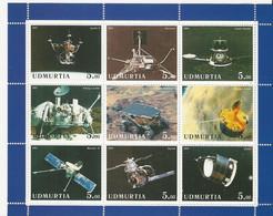 Oudmourtie (Russie) - Espace - Giotto - Comète De Halley - Neuf ** - Blocs & Hojas