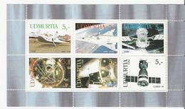 Oudmourtie (Russie) - Espace - Prototypes De L'astronautique Et Soyouz 12, 14, 15 Et 16 - Neuf ** - Blocs & Hojas