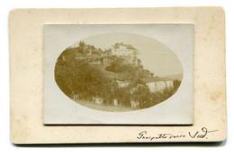 FOTOGRAFIA-PHOTO-Su Cartoncino-Castello Di Monter.. Del Marchese France..oli- Formato ;8x13-compreso Cartoncino- - Lieux
