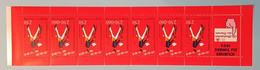 Carnet 7 Timbres - Journée Du Timbre 1993 - La Distribution Du Courrier - Dia Del Sello