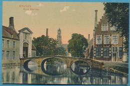 BRUGES - Grand  Béguinage - Cpa Colorisée - Brugge