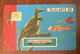 HOLLYWOOD WALLABIE TELECARTE PRIVÉE PUBLIQUE 50 UNITÉS RÉFÉRENCE PHONECOTE En249 PHONECARD - 50 Unità