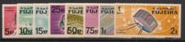 Fujeira - 1966 - N°Mi. 70 à 77 - Satellites - Neuf Luxe ** / MNH / Postfrisch - Fudschaira