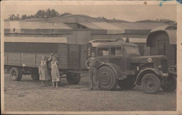 Photo Carte Tracteur Routier Hanomag (,) - Sonstige