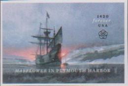 USA, 2020, MNH, SHIPS, MAYFLOWER,1v - Bateaux