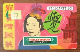 HOLLYWOOD ASIE TELECARTE PRIVÉE PUBLIQUE 50 UNITÉS RÉFÉRENCE PHONECOTE En249 PHONECARD SMART CARD CHIP - 50 Unità