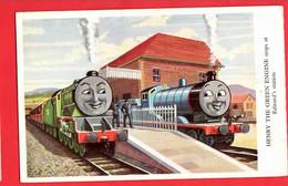 RAILWAY   HUMOUR  THOMAS THE TANK ENGINE   SERIES  HENRY THE GREEN ENGINE Pu 1953  BOOK ADVERT - Sonstige