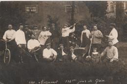 CPA - PHOTO (81) MAZAMET 114 ème Jour De Grève En 1909 Gréviste Carte-Photo  (2 Scans) - Mazamet