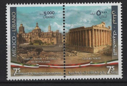 Liban - Lebanon (2020)  - Set -   /  Joint Issue With Mexico - Architecture - Archaeology - Cathedrals - Gezamelijke Uitgaven