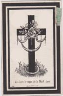 AMAY 1879 Décès De Hubert HANOUL Imprimé à Huy / RARE - 2 Scans - Todesanzeige