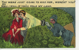 COMICS - YOU WERE JUST GOING TO KISS HER (Police) Com437 - Fumetti