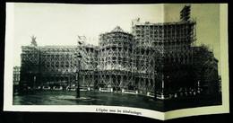 ► 1935 - OPERA De PARIS - Sous Les Echafaudages Grande  RESTAURATION 21 X 10 Cm - Coupure De Presse (Encadré Photo) - Public Works