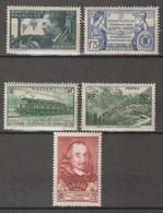 FRANCE . YT N° 335/ 337/339/357/358  Neuf ** 1937 - Nuevos