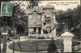 CPA Morsang Sur Orge, Parc De Beauséjour, Villa Le Charme - Sonstige Gemeinden