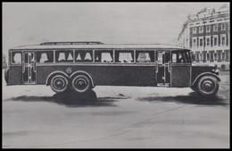 "0-262 RUSSIA 1983 POSTCARD Mint AUTO ""YaA-1"" BUS PASSENGER TRANSPORT USSR - Busse & Reisebusse"