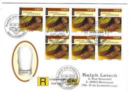 Luxembourg 2005 Europa Gastronomie Collet Porc Fèves ¦ Schweinnacken Saubohnen - Briefe U. Dokumente