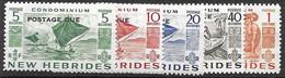 New Hebrides Mh *  41 Euros Postage Due - Portomarken