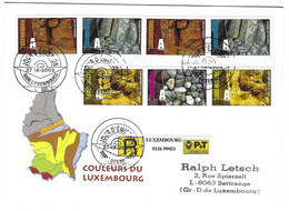 Luxembourg 2005 Geologie ¦ Geology - Lettres & Documents