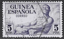 Guinea Española - Serie Básica - Año1952 - Catalogo Yvert N.º 0335 - Usado - - Guinea Spagnola