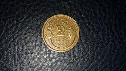 PIECE 2F 1934 CUPRO ALUMINIUM SUP - Non Classificati
