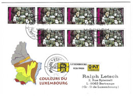 Luxembourg 2005 Geologie ¦ Geology ¦ Conglomerats Konglomerate - Lettres & Documents