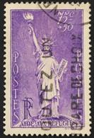 YT 309 (°) Obl 1936 Au Profit Des Réfugiés Politiques. Statue De La Liberté (côte 11 Euros) – Phil - Gebraucht