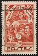 YT 312 (°) Oblitéré 1936 Enfants Des Chômeurs (côte 5,35 Euros) – Fokr0 - Gebraucht