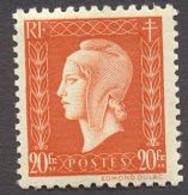France N°700 Neuf ** 1945 - Unused Stamps