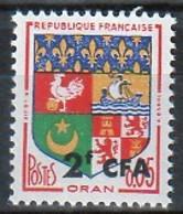 REUNION 1961 - BLASON ORAN NEUF YT 343 - RU641 - Nuevos