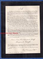 Document De 1924 - Château Du PLESSIS Par Tresboeuf - Louise Marie Antoinette De LABRIFFE Marquise De LANGLE - Todesanzeige