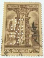 France 1935 St. Trophime D'Arles 3.50fr - Used - Gebraucht