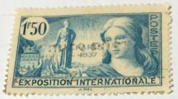 France 1937 World Exhibition - Paris, France 2fr - Used - Gebraucht